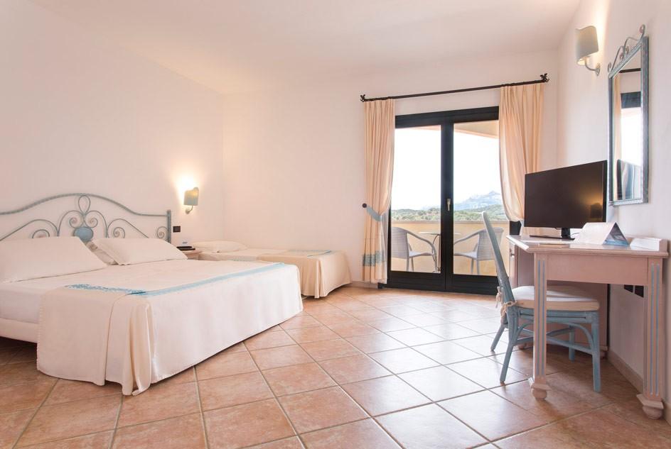 chambre standard hotel la rocca resort spa. Black Bedroom Furniture Sets. Home Design Ideas