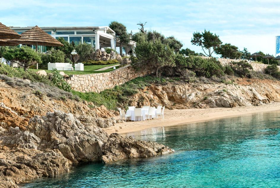 Ristorante in spiaggia - Costa Smeralda